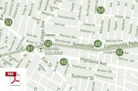 Map of Somerville Parks & Playgrounds